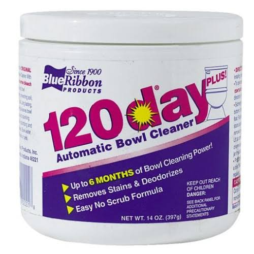Blue Ribbon 120 Day Plus Toilet Bowl Cleaner
