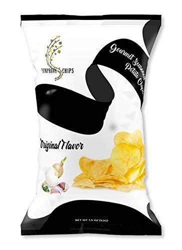 Symphony All Natural Gourmet Seasoned Potato Chips - Original Flavor, 1.5oz