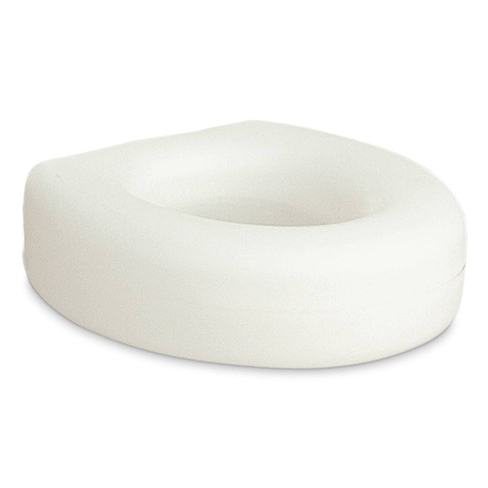 AquaSense Portable Raised Toilet Seat - White, 4""