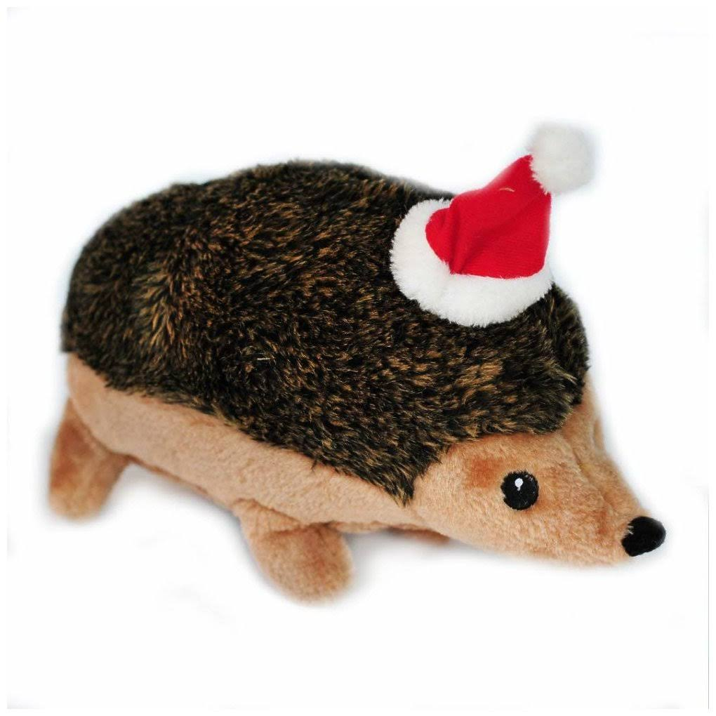 Zippypaws Holiday Hedgehog Squeaky Plush Dog Toy - X-Large