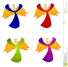 Kinds Of Christmas Trees by Variety Of Christmas Angels Clip Art Royalty Free Stock Photos