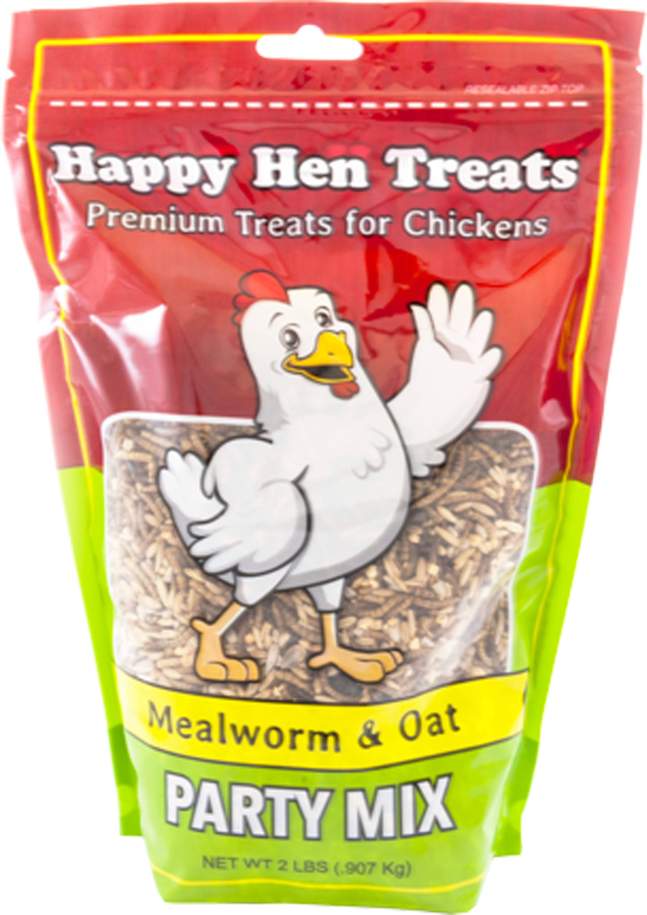 Happy Hen Treats Party Mix Mealworm and Oats - 2lb