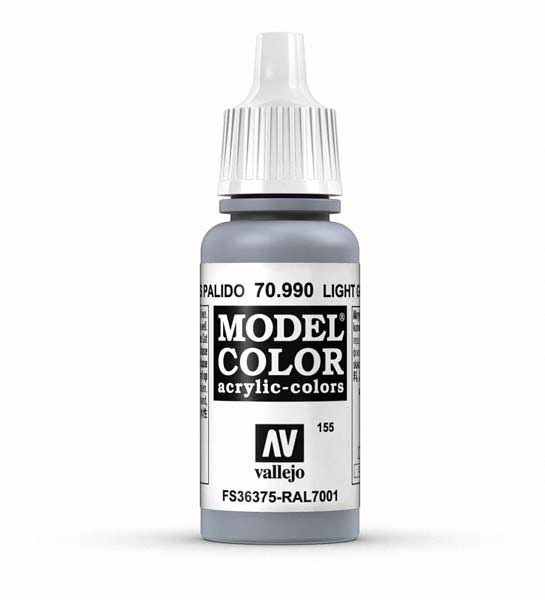 Vallejo Model Color Paint - #155 Light Grey
