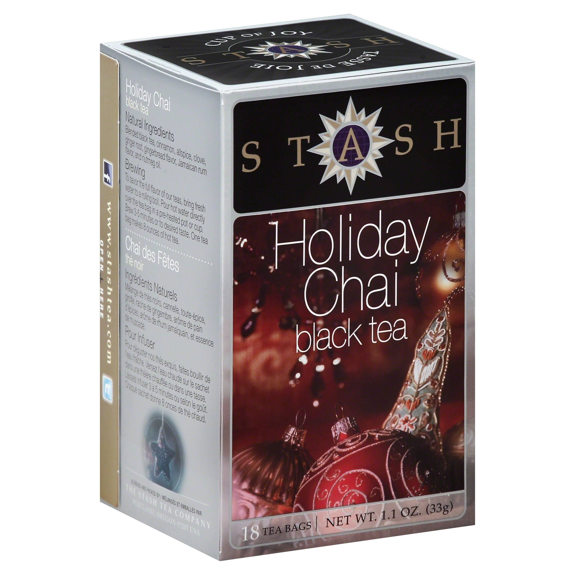 Stash Tea Holiday Chai Black Tea - 18ct
