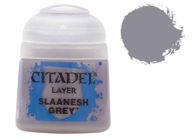 Citadel Layer Paint - Slaanesh Grey, 12ml