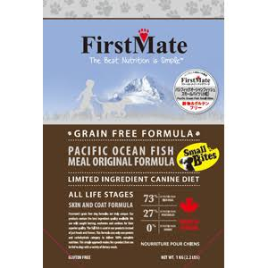 FirstMate Pet Foods Pacific Ocean Fish Small Bites for Pets, 14.5-Pound