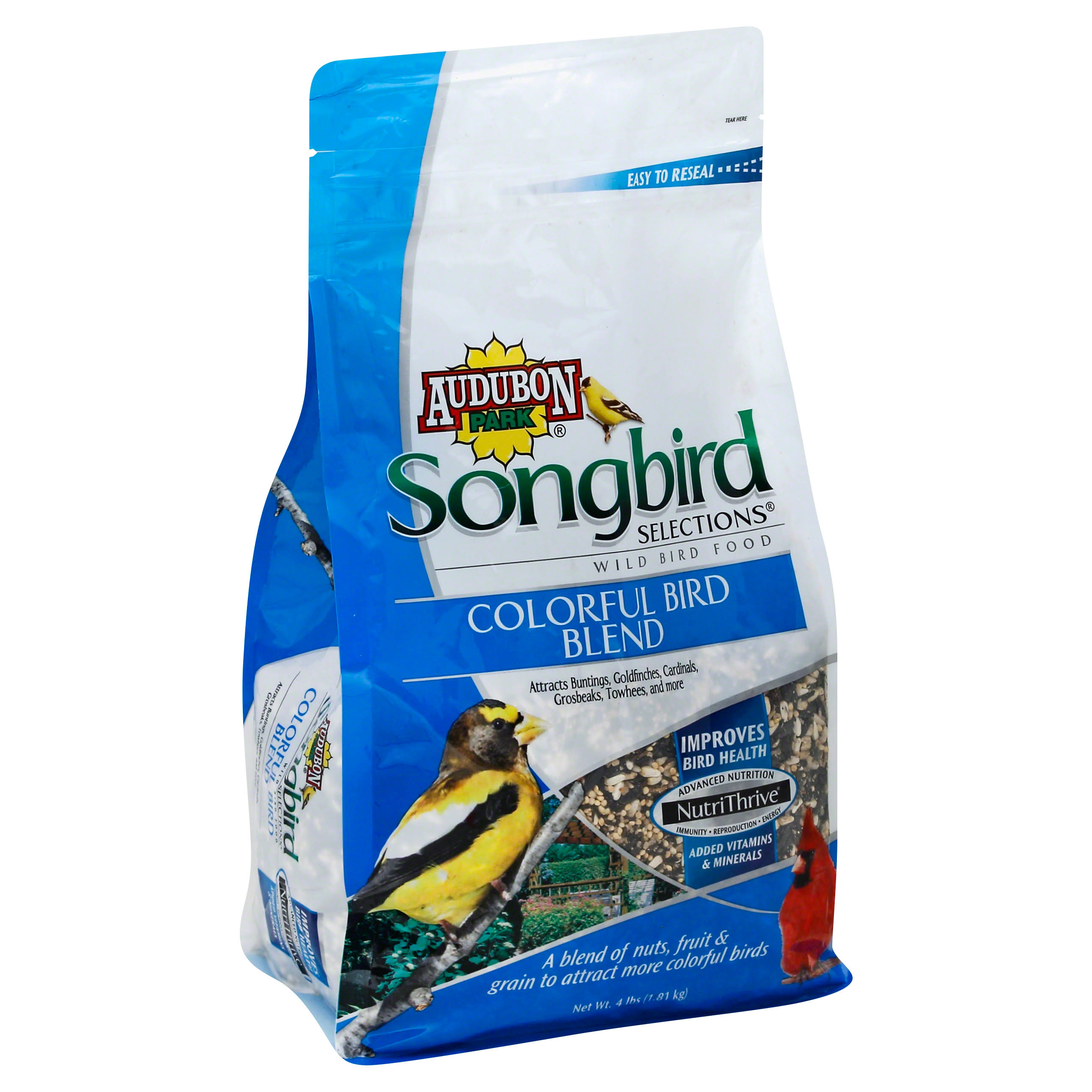 Scotts Songbird Colorful Blend Bird Seed 1025103 - 4lb