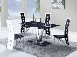 Ikea Dining Table And Chairs Glass by Black Glass Dining Room Table 13584