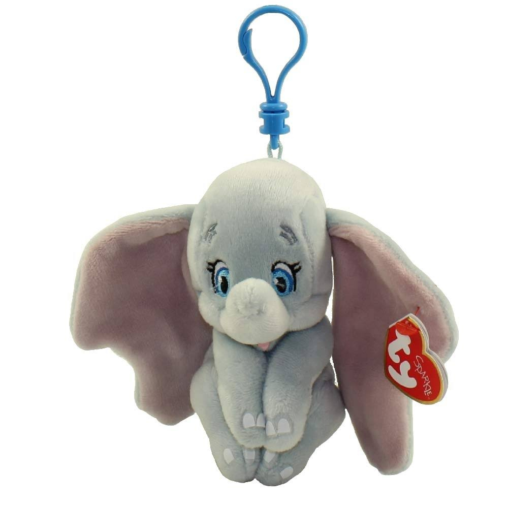 Ty Dumbo The Elephant Beanie Baby Plush with Clip