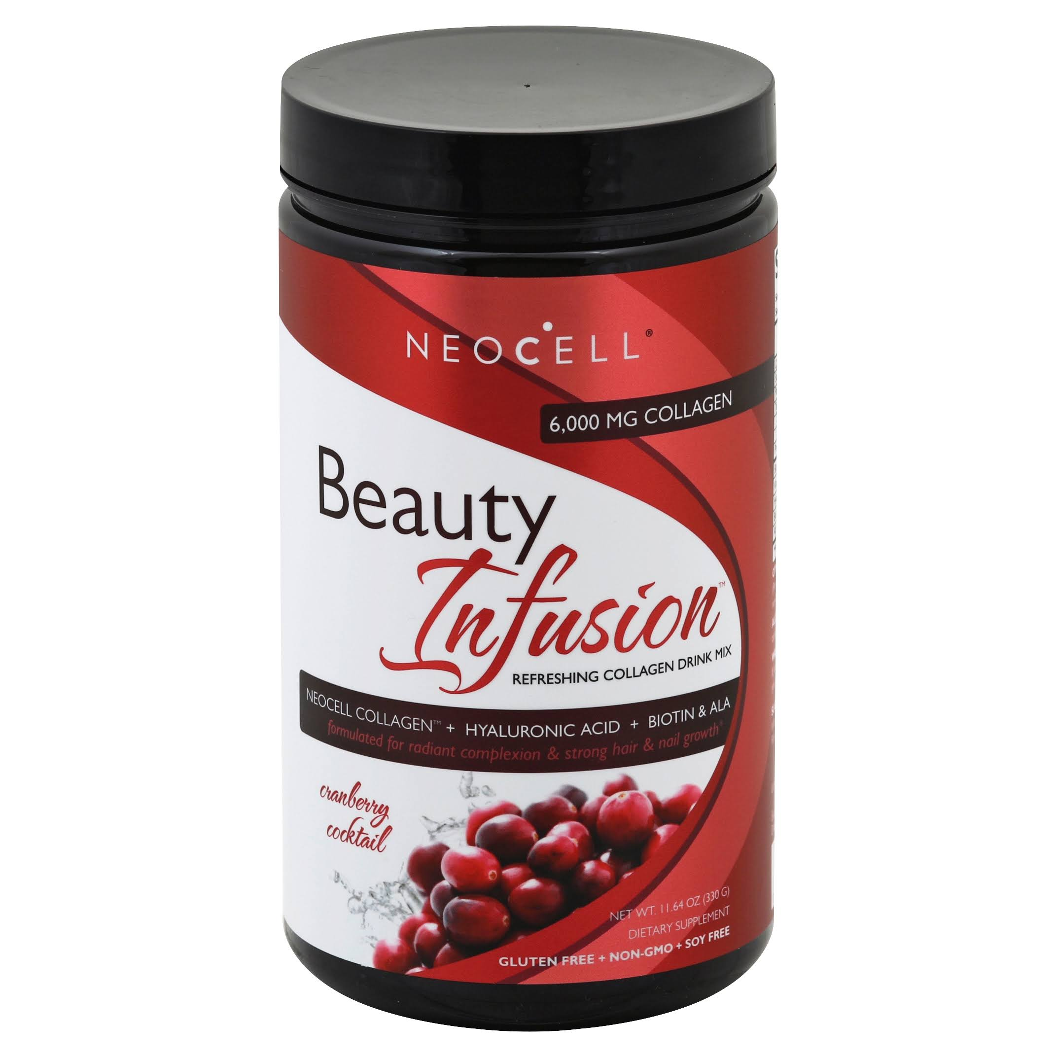NeoCell Beauty Infusion Cranberry Cocktail - 11.64oz