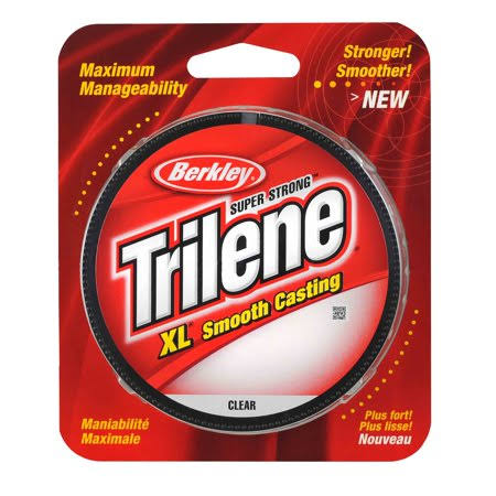 Berkley Trilene Fishing Line - 4lbs, 330yds, Clear