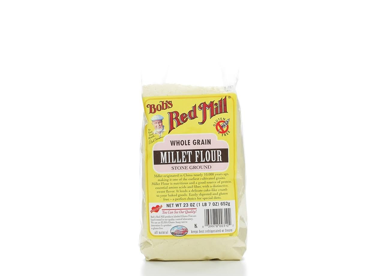 Bob's Red Mill Millet Flour - Whole Grain, 652g