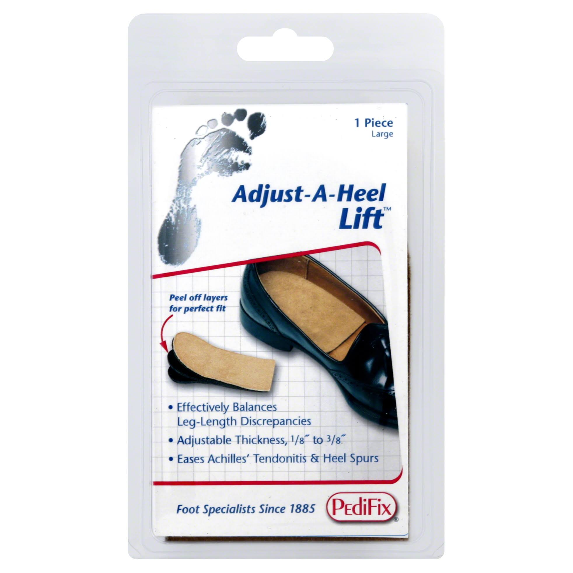 PediFix Peel Away Adjustable Heel Lift - Large