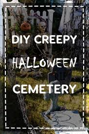 Halloween Cemetery Fence by Best 25 Halloween Graveyard Decorations Ideas On Pinterest