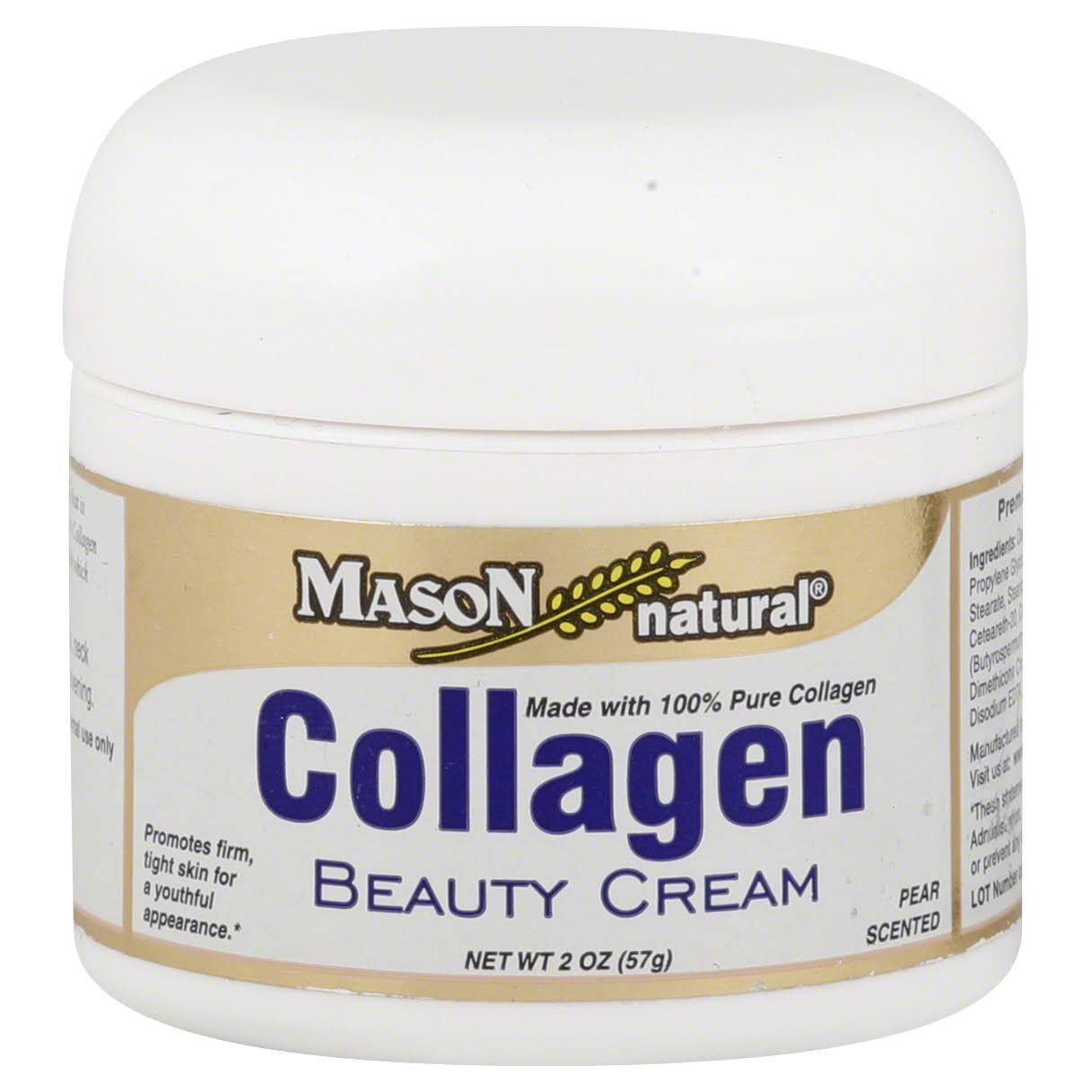 Mason Natural Pure Collagen Beauty Cream - 2oz, Pear Scented