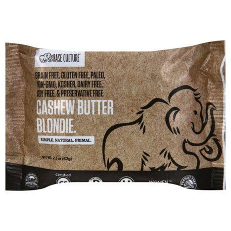 Base Culture Blondie, Cashew Butter - 2.2 oz
