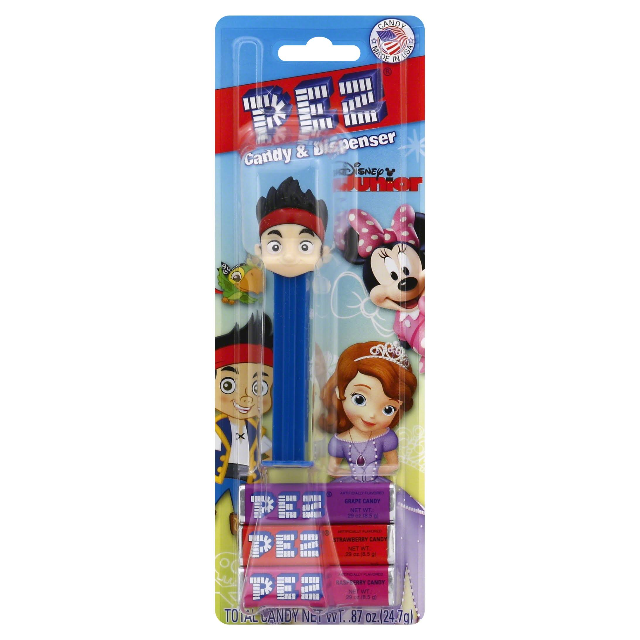 Pez Disney Junior Candy & Dispenser