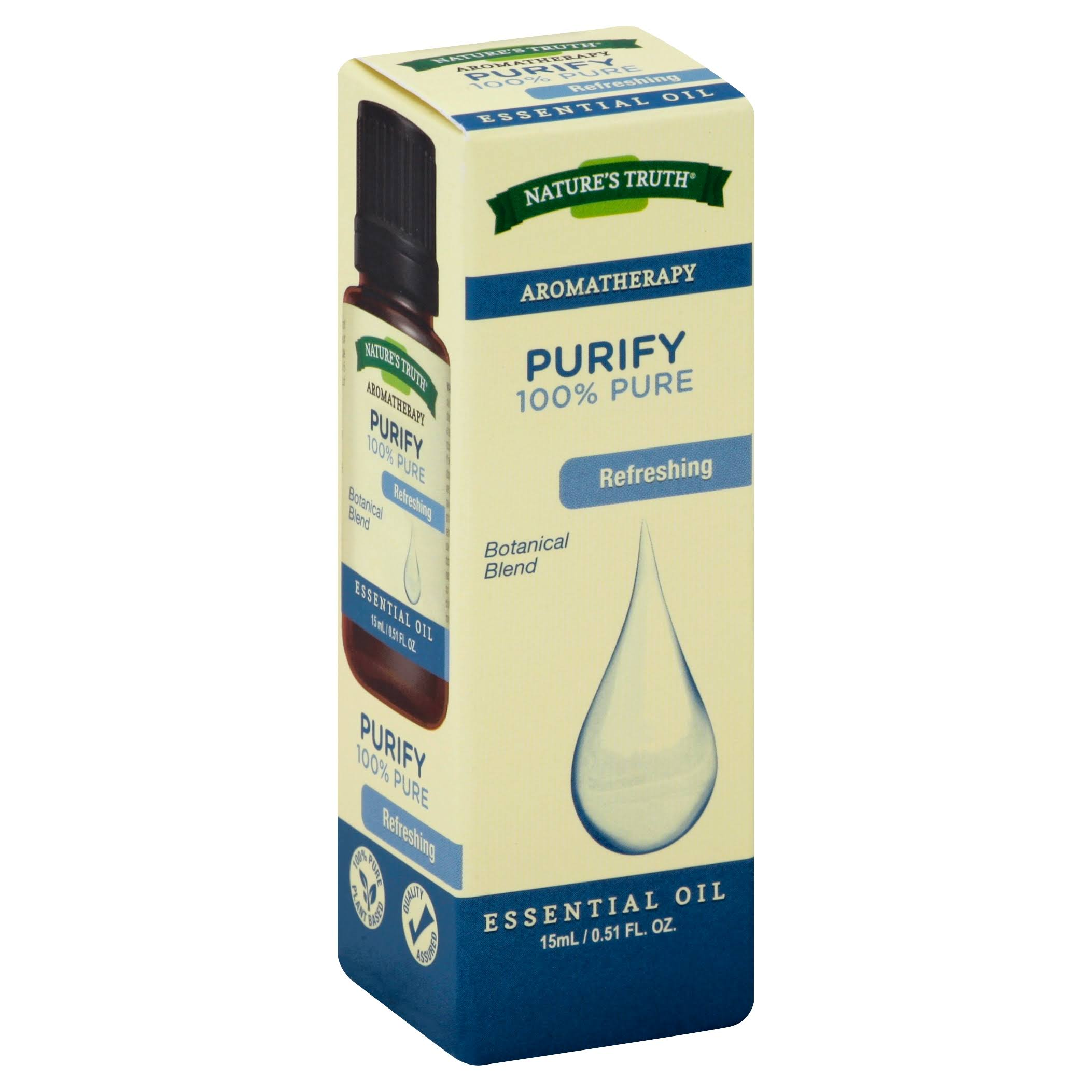 Nature's Truth Purify 100% Pure Essential Oil - 15ml