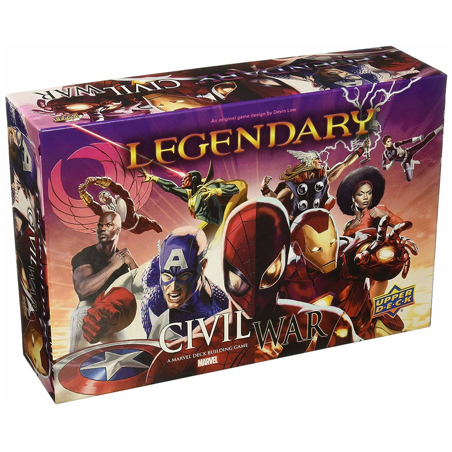 Marvel Legendary Deck-Building Game - Civil War Expansion