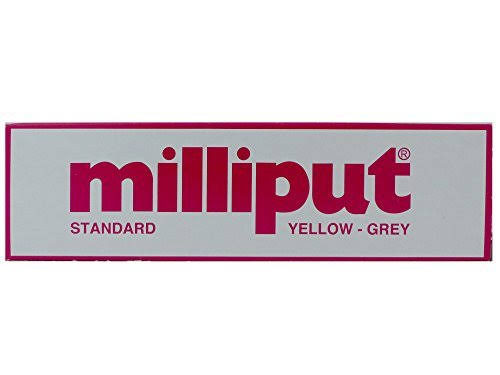 Milliput Standard 2-Part Self Hardening Putty - Yellow and Grey