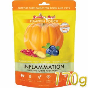 Grandma Lucy's Pumpkin Pouch Inflammation Support Supplement for Dogs