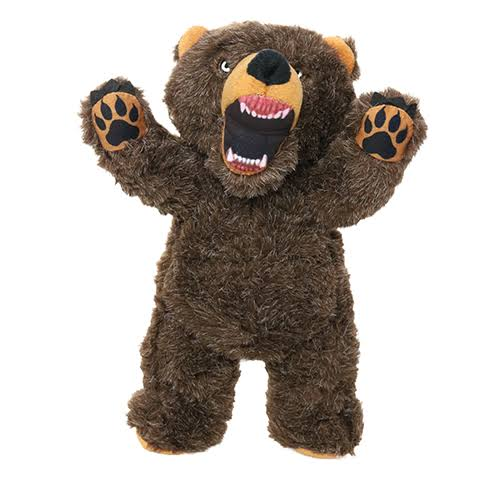 Mighty Angry Animals Dog Toy - Bear - Junior