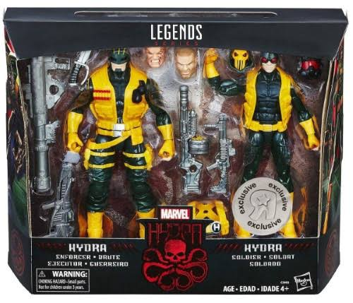 Marvel Legends Hydra Soldiers Action Figure - Enforcer Brute and Soldier
