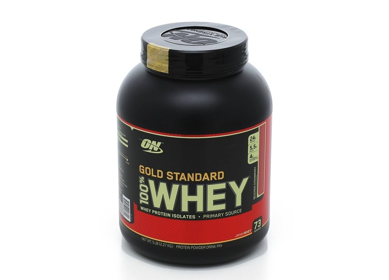 Optimum Nutrition 100% Whey Gold Standard Protein - Strawberry