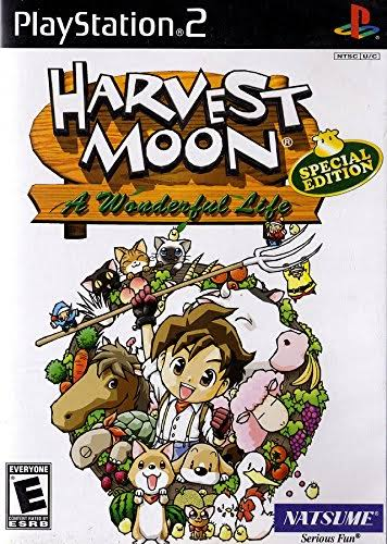 Harvest Moon: A Wonderful Life Special Edition - PlayStation 2