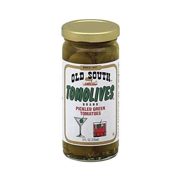 South Tomolives - Pickled Green Tomatoes, 8oz, 3 Pack