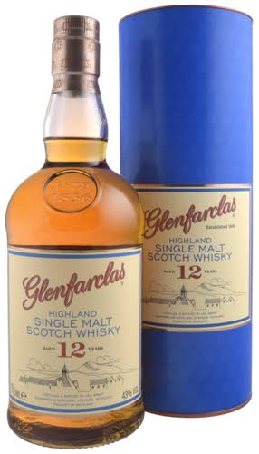 Glenfarclas Single Highland Malt Scotch Whisky - 700ml