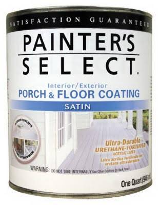 True Value Satin Neutral Base Porch and Floor Coating - 1 Quart