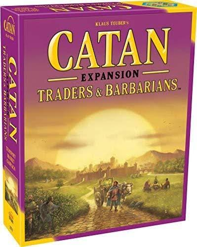Klaus Teuber's Catan Expansion: Traders and Barbarians