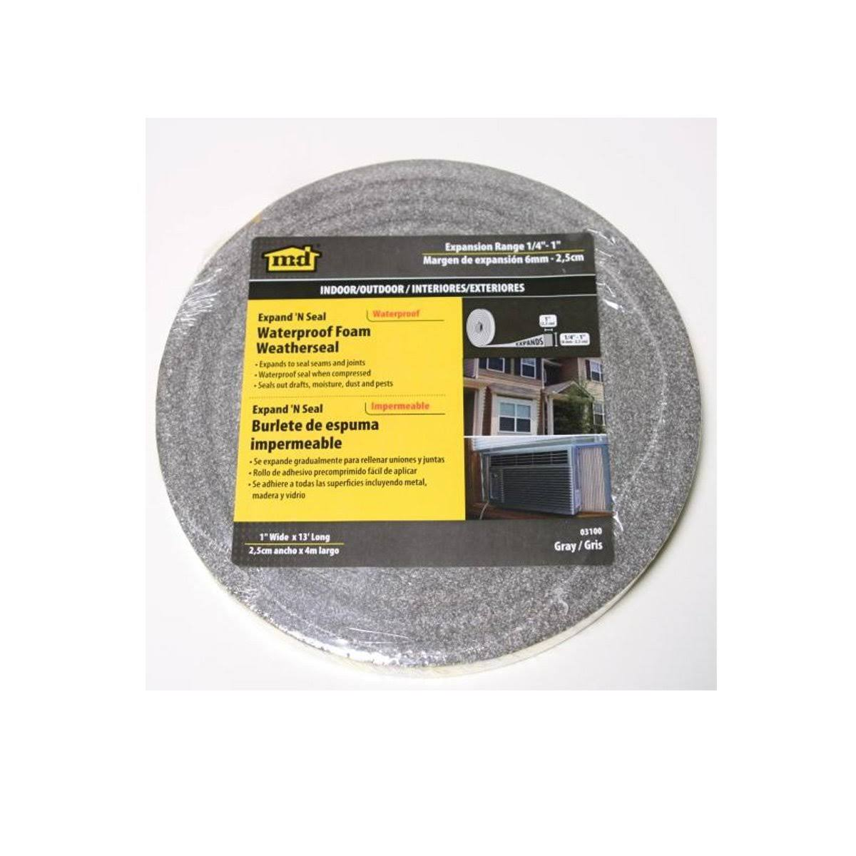 M-D Building Products 03100 Waterproof Foam Tape - Gray