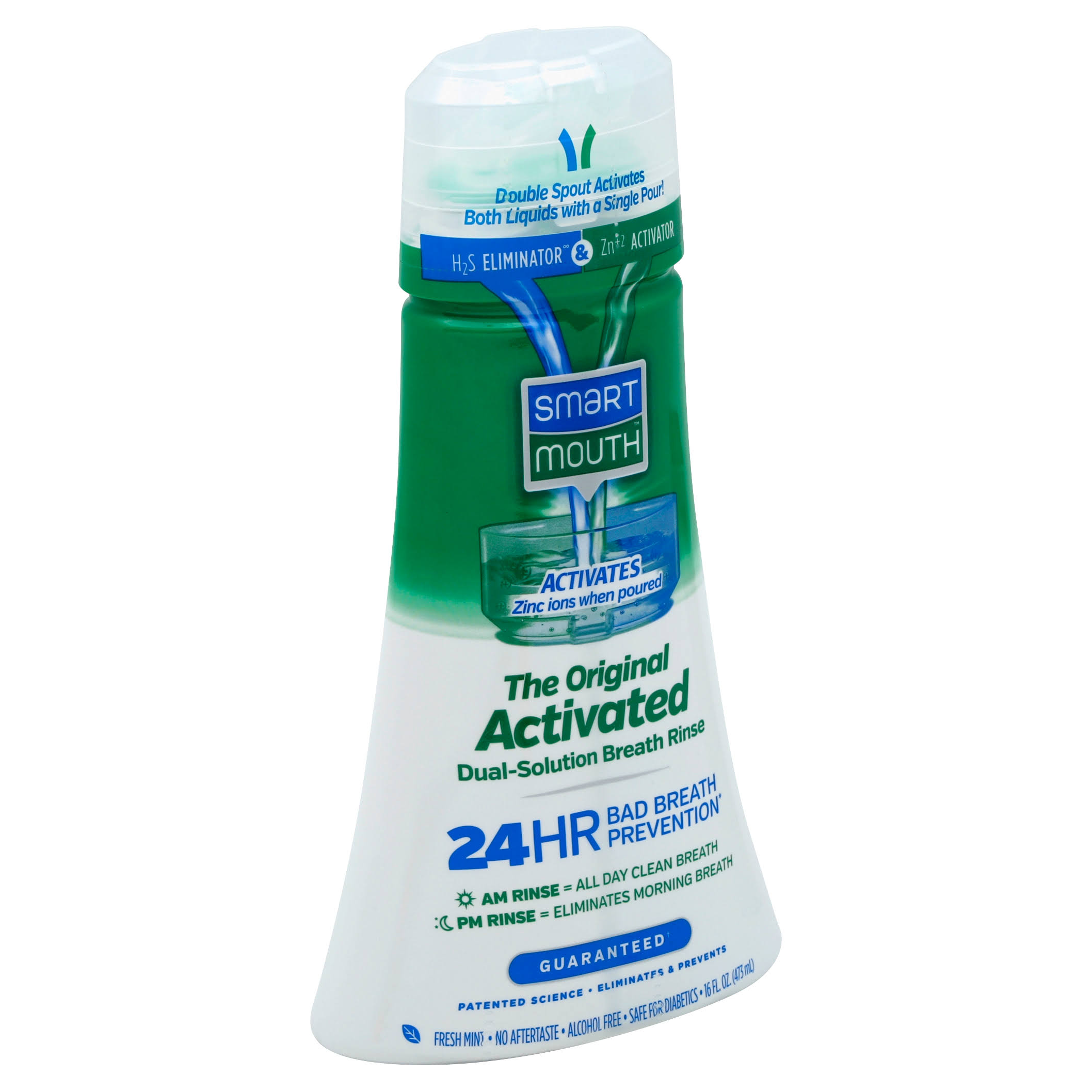SmartMouth Original Activated Mouthwash - 470ml
