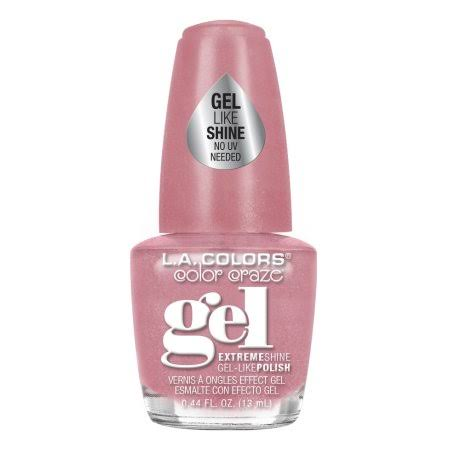 LA Colors Extreme Shine Gel Nail Polish - Giggle, 0.44oz