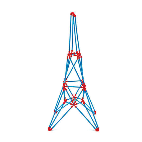 Hape Eiffel Tower Flexistix Kit - 62 Pieces