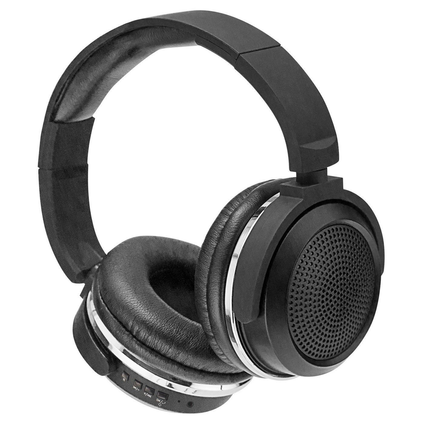 Sentry BT600 Pro Series Bluetooth Headphones - Black