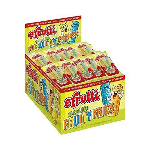 Efrutti Sour Fruity Fries Gummi Candy - 0.55oz, 40pk