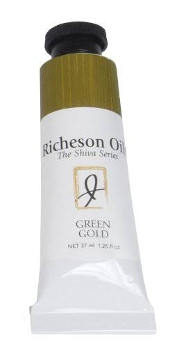 Jack Richeson Artist Oil Colours - Green Gold