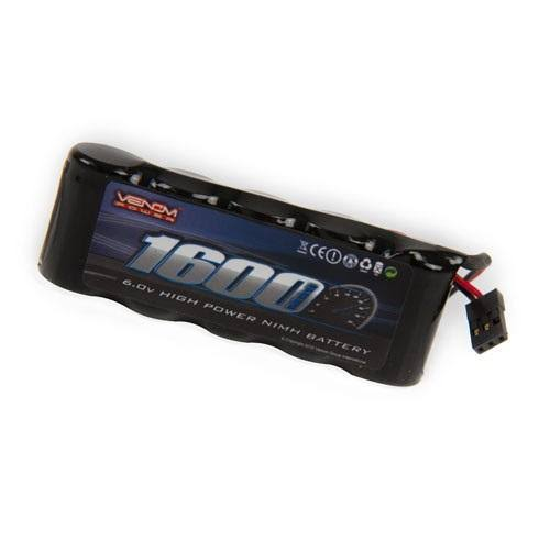 Venom 6V 1600mAh NiMH Flat Receiver Battery