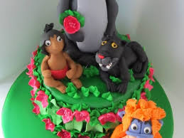 Cake Decorating Books Free by Jungle Book Themed 3rd Birthday Cake Cakecentral Com