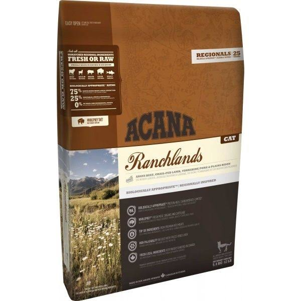 Acana Ranchlands cat food 5.4 kg