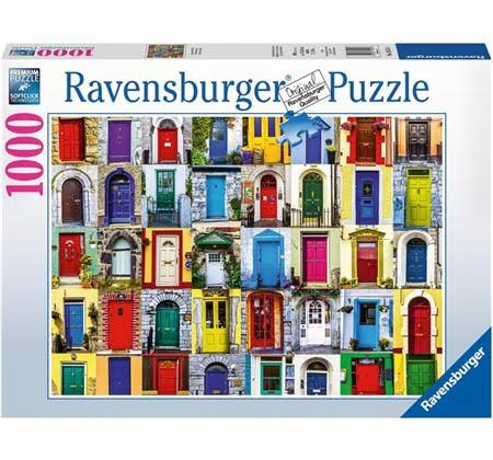 Ravensburger Doors of the World Puzzle - 1000pc