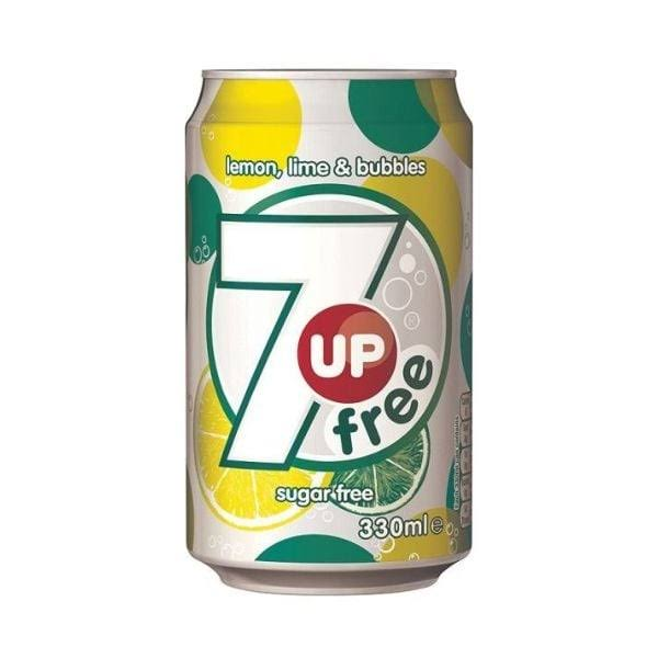 7UP Free Soft Drink - 330ml