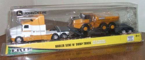 John Deere Hauler Semi Set - Black