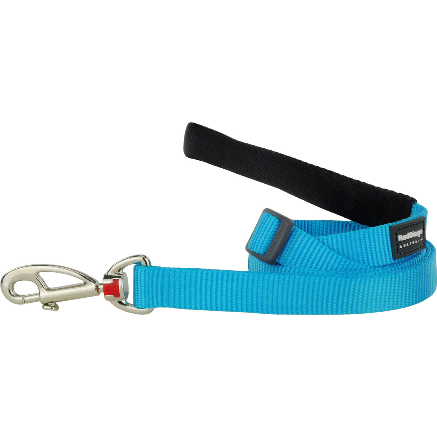 Red Dingo Adjustable Lead - Classic Turquoise, 20mm