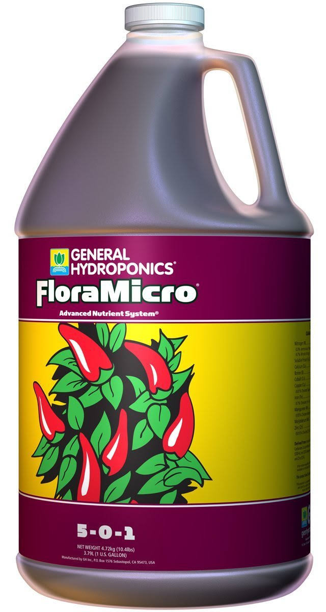 General Hydroponics Flora Micro Fertilizer - 1gal