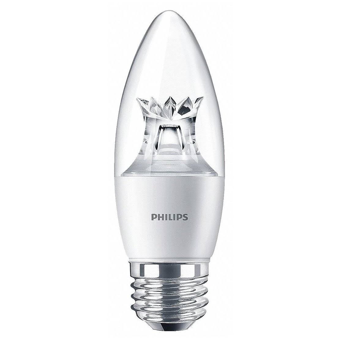 Philips Dimmable Candle B12 LED Light Bulb