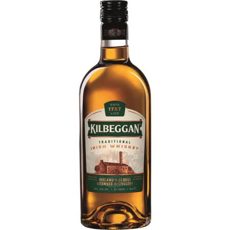 Kilbeggan Traditional Irish Whiskey - 70cl